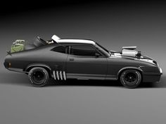(www.cgtrader.com ~ 1973 Ford Falcon 'Mad Max' Interceptor)