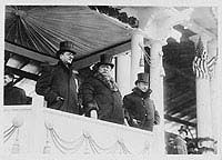 Image: caption follows William Howard Taft Inauguration