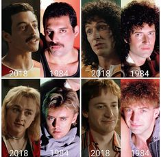 Rami Malek as Freddie Mercury Gwilym Lee as Brian May Ben Hardy as Roger Taylor Joe Mazzello as John Deacon Queen Band, Discografia Queen, John Deacon, Freedie Mercury, Queen Movie, Cinema Tv, Queen Freddie Mercury, Rami Malek Freddie Mercury, Rock Music