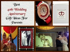 40th Wedding Anniversary Celebration Ideas