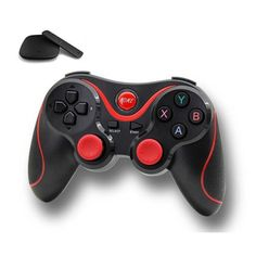 T3 Bluetooth Gamepad for Pad/Phone/Smart Box/Smart TV/PC- Black. Ergonomic design with grip for comfortable playing. The tilting angle of the analog joy stick has been slightly broadened to enable more delicate and dynamic manipulation.