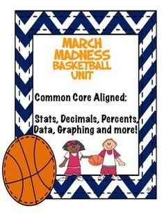 March Madness Basketball Unit!