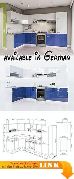 B00ELCBZPC  Flex-Well 00007634 Singleküche Samoa 150 cm weiß - küchen arbeitsplatte sonoma eiche