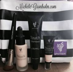 THE FLAWLESS FOUR! These 4 products will change how you think about your skin! 3 steps to a flawless airbrush look!  MicheleGronholm.com