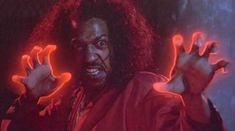 """Sho Nuff - Kung Fu Master demonstrating """"The Glow"""""""