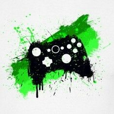 Awesome Xbox360 controller grafitti
