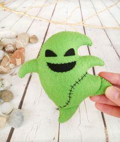 Nightmare Before Christmas Decor Halloween Ornaments Jack Skellington Sally…