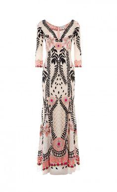 Temperley London V Neck Belle Dress