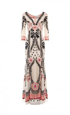 Temperley London V Neck Belle Dress