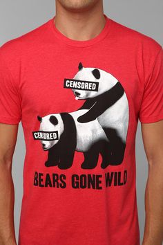 Riot Society Bears Gone Wild Tee