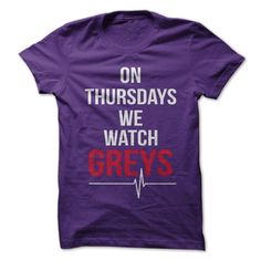 On Thursdays We Watch Grey's