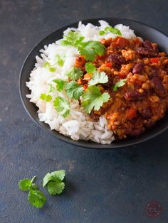 Chilli Con Carne   Wyzwania Kuchenne Chilli, Grains, Curry, Ethnic Recipes, Food, Curries, Essen, Meals, Seeds