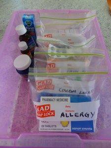 Zip Bags Pills Travel 85