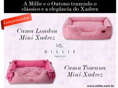 Camas Mini Xadrez - London e Toscana MILLIE Conheça: http://www.millie.com.br/MINI