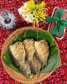 Thai Recipes, Asian Recipes, Authentic Thai Food, Thai Dessert, Fish Curry, Food Presentation, Creative Food, Food Plating, Food Network Recipes