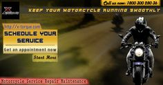 Book your Service Now for your motorcycle  Call us now: 1800 300 280 36 #Xtorque #Motorycycle #Bangalore