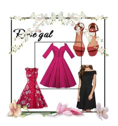 """""""Rosegal 81/II"""" by nermina-okanovic ❤ liked on Polyvore featuring vintage and rosegal"""