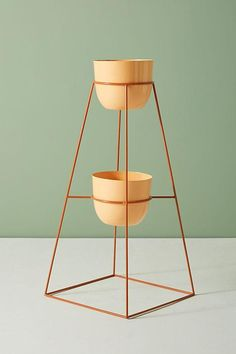 Montgolfier Indoor/Outdoor Plant Stand by Anthropologie Outdoor Landscaping, Outdoor Plants, Indoor Outdoor, Outdoor Plant Stands, Plants Indoor, Outdoor Gardens, Cottage Style Bathrooms, Modern Plant Stand, Pot Plante