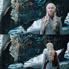 Drogon and daenerys Game Of Thrones Queen, Game Of Thrones Series, Game Of Thrones Dragons, Game Of Thrones Funny, Game Of Thrones Art, Dany's Dragons, Mother Of Dragons, Sansa Stark, Best Fantasy Series