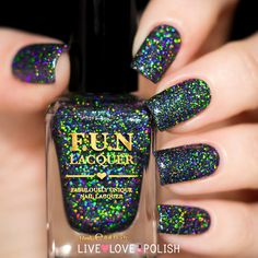 Fun Lacquer Black Holo Witch (Simplynailogical Collection) - I just pre-ordered this from Cristine's new collection!!! I'm so excited :)))