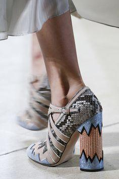 500a31367b5 Miu Miu Spring 2016 2 Runway Shoes