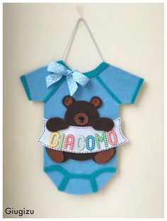 Giugizu's corner: D.I.Y. Onesie Birth Wreath - Fiocco Nascita fai da te con tutina. Video #tutorial on my blog!!