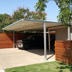 Mhp Double Carport Aluminum And Steel Construction