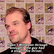 David Harbour speaks the truth.