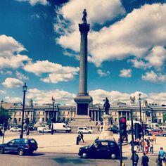Trafalgar Square itt: London, Greater London