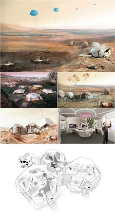Foster Among 30 Shortlisted in NASA-Backed Mars Habitat Competition