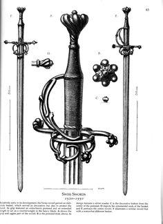 16th Century Swiss  Hand and a Half Sword
