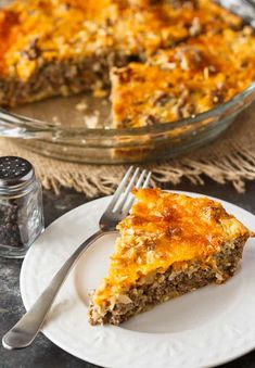 Impossible Cheeseburger Pie - Super easy and delicious! This yummy recipe is full of cheesy beefy flavor that everyone loves. Impossible Cheeseburger Pie - Super easy and delicious! This yummy recipe is full of cheesy beefy flavor that everyone loves. Beef Recipes For Dinner, Ground Beef Recipes, Meat Recipes, Cooking Recipes, Shrimp Recipes, Recipies, Yummy Recipes, Healthy Recipes, Beef Dishes