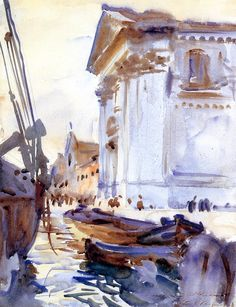 I Gesuati John Singer Sargent watercolor art for sale at Toperfect gallery. Buy the I Gesuati John Singer Sargent watercolor oil painting in Factory Price. John Singer Sargent Watercolors, Arte Yin Yang, Sargent Art, Art Watercolor, Guache, Art Graphique, Renoir, Oeuvre D'art, American Artists