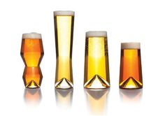 Modern Glasses Purpose Designed For Beer Drinking  SIMPLI