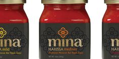 "Mina Harissa is ""a new red pepper sauce that both differentiates within a crowded category and connects with the taste conscious consumer."""