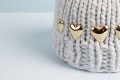 Aurélie Bidermann X Wool and the Gang  #collab #woolandthegang #aureliebidermann #hat #beanie #knitting #jewelry