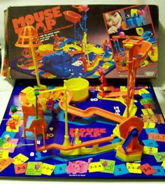 MouseTrap - we would never play this game, just set it up & let it the ball run it's course - ha!