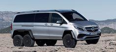 Allrad-Mercedes Van für hartes Terrain: Kommt jetzt auch die V-Klasse 6x6? Leider nur als Aprilscherz 2015!