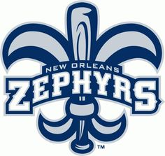 67592150b New Orleans Zephyrs Primary Logo on Chris Creamer s Sports Logos Page -  SportsLogos. A virtual museum of sports logos