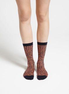 Papiya-sukat (koralli, t.sininen) |Asusteet, Sukat ja sukkahousut, Laukut & asusteet | Marimekko