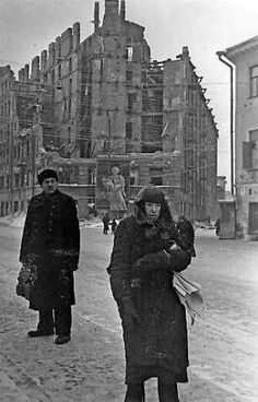 Leningrad, 1942....nearly 1.5 million residents starved to death during the siege...