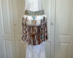 Native American Inspired Fringe Bag  Bohemian Gypsy by Pursuation