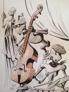 Robot jazz.