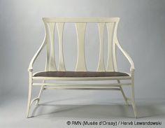 Peter Behrens ,Bench,© ADAGP, Paris - RMN (Musée d'Orsay) / Hervé Lewandowski