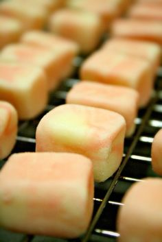 Pretty in Pink Dinner Mints....super simple