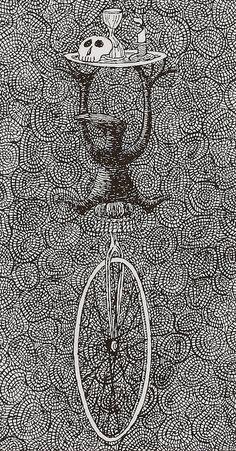 Edward Gorey's 'anxious, irritable' tarot card set is predictably perfect Edward Gorey, Illustrations, Illustration Art, John Kenn, Dangerous Minds, Up Book, Tarot Card Decks, Ink Pen Drawings, Gothic Art