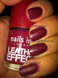 "nails inc. Leather effect ""shoreditch lane"""