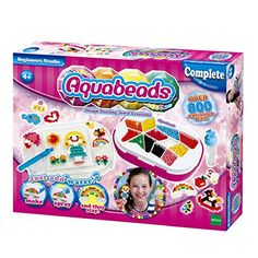 AquaBeads Beginners Studio Playset - New for 2015!! The Aquabeads Beginners Studio has everything you need to create amazing beat art! Create your bead art, spray it with water, let it dry and it's complete!