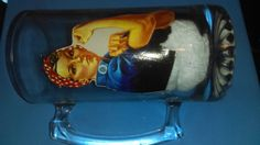 Rosie the Riveter Decoupaged Beer Mug by HopesSassyGlass on Etsy