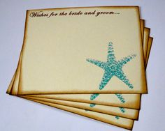 Wedding Guest Book Alternative Cards  Set of by TheTrendySparrow, $19.00